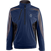 Antigua Men's Vancouver Whitecaps Navy Discover Full-Zip Jacket
