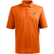 Antigua Men's Bowling Green Falcons Orange Xtra-Lite Polo