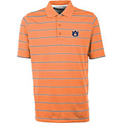 Antigua Men's Auburn Tigers Orange Deluxe Performance Polo