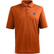 Antigua Men's Auburn Tigers Orange Xtra-Lite Polo
