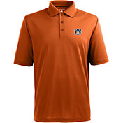 Antigua Men's Auburn Tigers Orange Xtra-Lite Polo