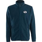Antigua Men's BYU Cougars Blue Ice Full-Zip Jacket