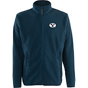 Antigua Men's BYU Cougars Blue Ice Full-Zip Jacket