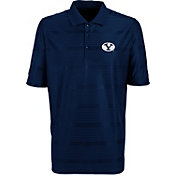 Antigua Men's Brigham Young Cougars Blue Illusion Performance Polo