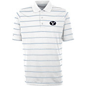 Antigua Men's BYU Cougars Deluxe Performance White Polo