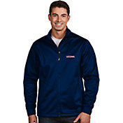 Antigua Men's Connecticut Huskies Blue Performance Golf Jacket