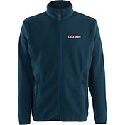 Antigua Men's UConn Huskies Blue Ice Full-Zip Jacket
