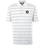 Antigua Men's Florida State Seminoles Deluxe Performance White Polo