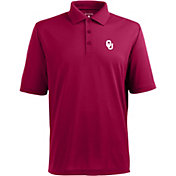 Antigua Men's Oklahoma Sooners Crimson Xtra-Lite Polo