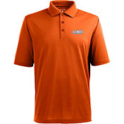 Antigua Men's Illinois Fighting Illini Orange Xtra-Lite Polo