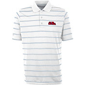 Antigua Men's Ole Miss Rebels Deluxe Performance White Polo
