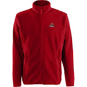 Antigua Men's Louisville Cardinals Cardinal Red Ice Full-Zip Jacket
