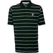Antigua Men's Michigan State Spartans Green Deluxe Performance Polo
