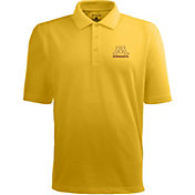 Antigua Men's Minnesota Golden Gophers Gold Xtra-Lite Polo