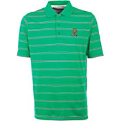 Antigua Men's Marshall Thundering Herd Green Deluxe Performance Polo