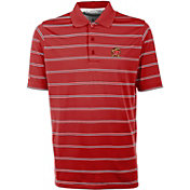 Antigua Men's Maryland Terrapins Red Deluxe Performance Polo