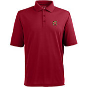 Antigua Men's Maryland Terrapins Red Xtra-Lite Polo