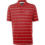 Antigua Men's NC State Wolfpack Red Deluxe Performance Polo