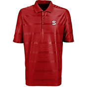 Antigua Men's NC State Wolfpack Red Illusion Performance Polo