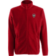 Antigua Men's New Mexico Lobos Cherry Ice Full-Zip Jacket