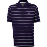 Antigua Men's Northwestern Wildcats Purple Deluxe Performance Polo