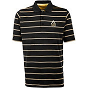 Antigua Men's Purdue Boilermakers Black Deluxe Performance Polo