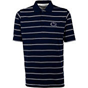 Antigua Men's Penn State Nittany Lions Blue Deluxe Performance Polo