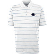 Antigua Men's Penn State Nittany Lions Deluxe Performance White Polo