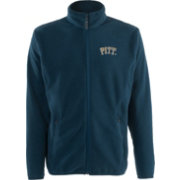 Antigua Men's Pitt Panthers Blue Ice Full-Zip Jacket