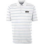 Antigua Men's Pitt Panthers Deluxe Performance White Polo