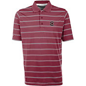 Antigua Men's South Carolina Gamecocks Garnet Deluxe Performance Polo