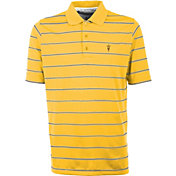 Antigua Men's Arizona State Sun Devils Gold Deluxe Performance Polo