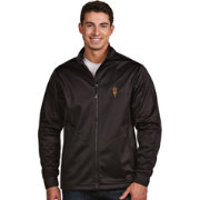 Antigua Men's Arizona State Sun Devils Black Performance Golf Jacket