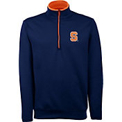 Antigua Men's Syracuse Orange Blue Long Sleeve Leader Pullover Shirt
