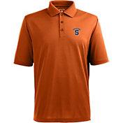 Antigua Men's Syracuse Orange Xtra-Lite Orange Polo