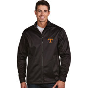 Antigua Men's Tennessee Volunteers Black Performance Golf Jacket
