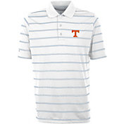Antigua Men's Tennessee Volunteers Deluxe Performance White Polo