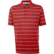 Antigua Men's Texas Tech Red Raiders Red Deluxe Performance Polo