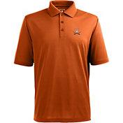 Antigua Men's Virginia Cavaliers Orange Xtra-Lite Polo