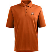 Antigua Men's Virginia Cavaliers Orange Xtra-Lite Polo