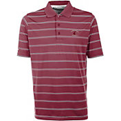Antigua Men's Washington State Cougars Crimson Deluxe Performance Polo