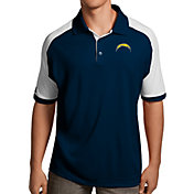 Antigua Men's Los Angeles Chargers Century Navy Polo