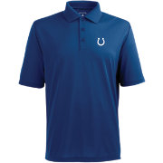 Antigua Men's Indianapolis Colts Pique Xtra-Lite Dark Royal Polo