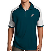 Antigua Men's Philadelphia Eagles Century Teal Polo