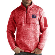 Antigua Men's New York Giants Fortune Blue Pullover Jacket