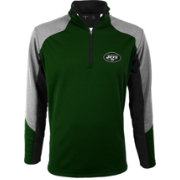 Antigua Men's New York Jets Mighty Green Quarter-Zip Jacket