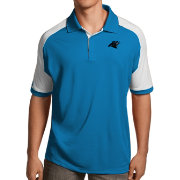 Antigua Men's Carolina Panthers Century Blue Polo