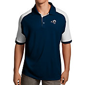 Antigua Men's Los Angeles Rams Century Navy Polo