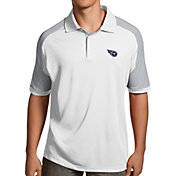 Antigua Men's Tennessee Titans Century White Polo