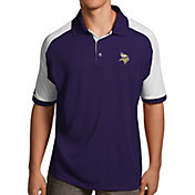 Antigua Men's Minnesota Vikings Century Purple Polo